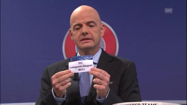 Video «Basel trifft auf Ludogorets Rasgrad» abspielen