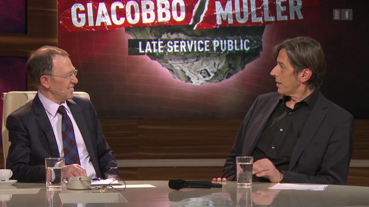Pedro Lenz bei «Giaccobo/Müller»