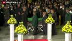 Video «Neslon Mandela tritt seine letzte Reise an» abspielen
