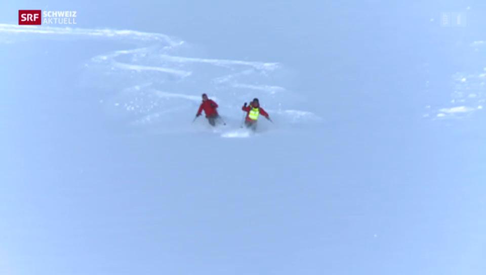 Skitouren für Blinde