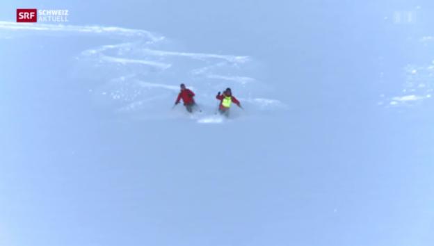 Video «Skitouren für Blinde» abspielen