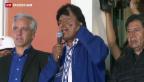 Video «Der alte ist auch der neue Staatschef in Bolivien» abspielen