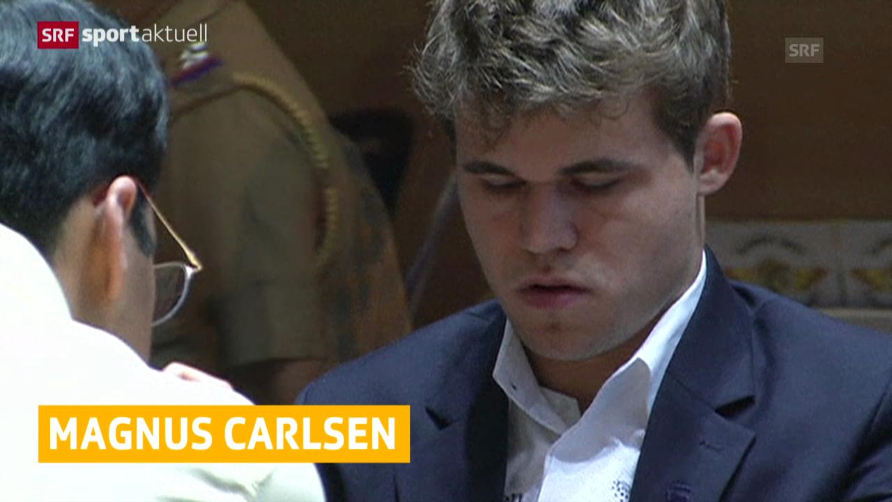 Schach: Carlsen ist Schach-Weltmeister («sportaktuell»)