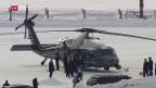Video «US-Präsident am WEF angekommen» abspielen