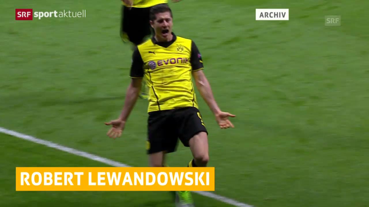 Fussball: Lewandowski zu Bayern München (sportaktuell, 4.1.2014)