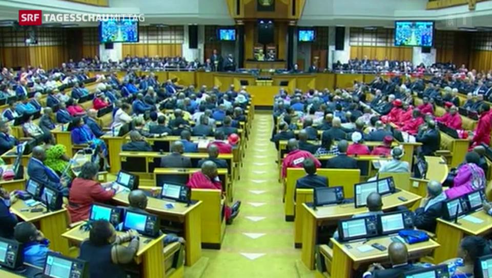 Von der Parlamentsrede zu Chaos und Tumulten