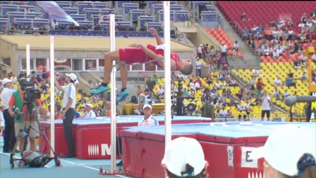 Video «LA-WM: Hardee scheitert im Hochsprung» abspielen