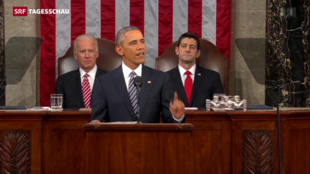 Video «Obamas letzte Rede zur Lage der Nation» abspielen