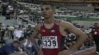 Video «Leichtathletik: WM 1999 in Sevilla, 400 m Hürden, Marcel Schelbert» abspielen