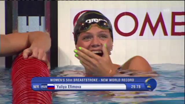 Weltrekord von Julia Jefimowa (unkommentiert)