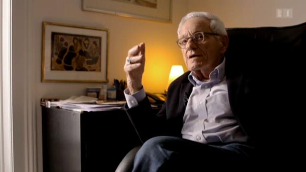 Video «Arno Gruen: «Wir brauchen Kreativität und vor allem Ungehorsam.»» abspielen