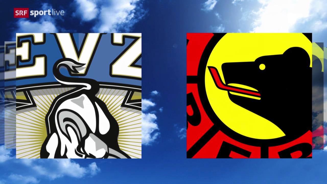 Eishockey: Platzierungsrunde, Zug - Bern («sportlive», 13.03.2014)