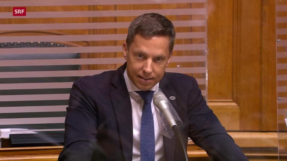 Christian Imark (SVP/SO): «Wollen unbestrittene Elemente im Gesetz verlängern»