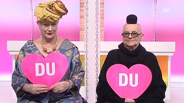 Video ««Ich oder Du» mit La Lupa und Christa de Carouge» abspielen