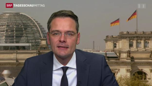 Video «SRF-Korrespondent Stefan Reinhart zum Koalitionsvertrag» abspielen