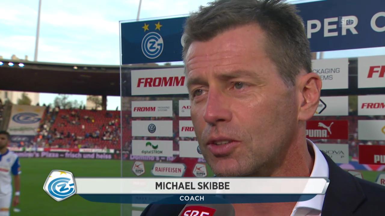 Fussball: Super League, GC - FCZ, Interview mit Michael Skibbe
