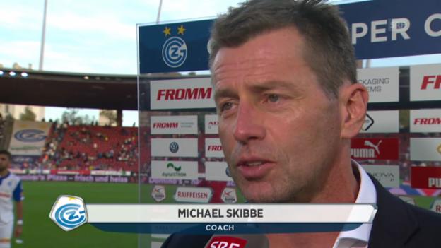 Video «Fussball: Super League, GC - FCZ, Interview mit Michael Skibbe» abspielen