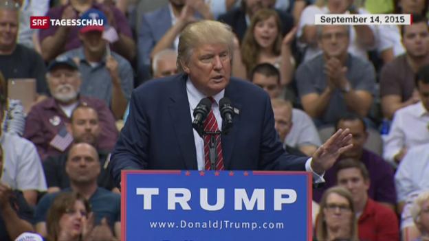Video «Trumpcare muss reanimiert werden» abspielen