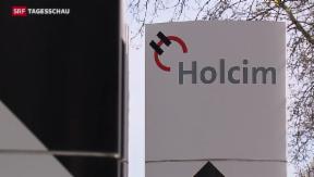 Video «Holcim und Lafarge werden zum grössten Betonmischer» abspielen