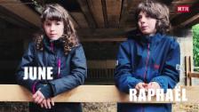 Laschar ir video «June e Raphaël»