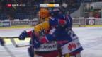Video «Kloten stoppt Niederlagenserie ausgerechnet gegen den ZSC» abspielen