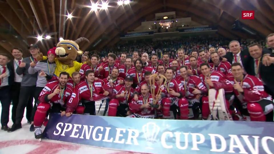 Canada triumfescha a la Cuppa Spengler 2019