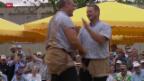 Video «Schwingen: Gisler und Forrer am Baselstädtischen Schwingertag» abspielen