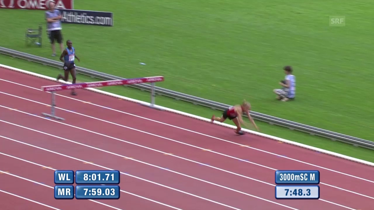 Leichtathletik: Diamond League Paris, Jagers Rekord trotz Sturz