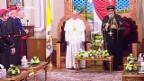 Video «Papst in Ägypten» abspielen