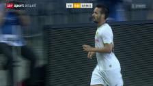 Video «Fussball: YB besiegt Ermis Aradippou» abspielen
