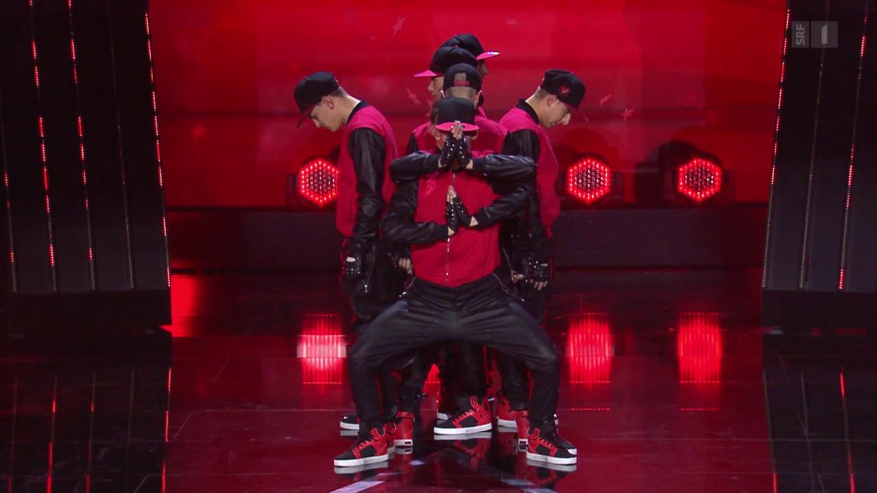 «Black Diamonds» mit Breakdance