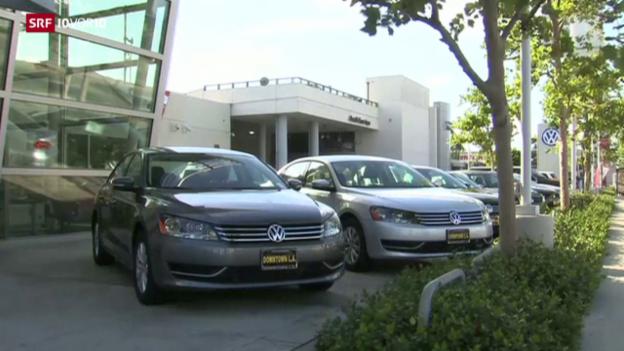 Video «FOKUS: Erneuter Rückruf von VW-Fahrzeugen» abspielen
