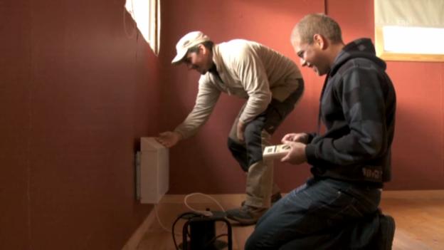 Video «Umbau des Wohnhauses» abspielen