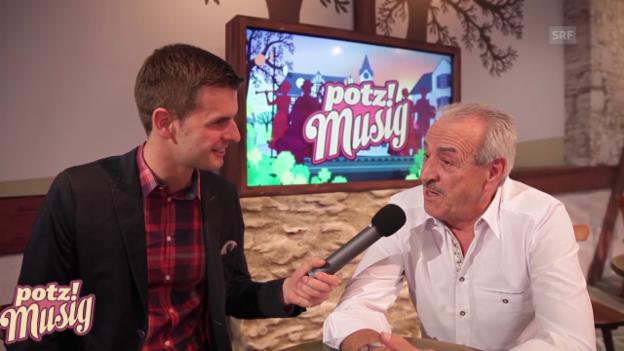 Video ««Potzmusig» hinter den Kulissen: Arthur Prisi» abspielen