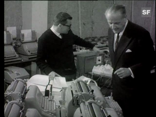Rolf Liebermanns «Les Echanges» von 1964
