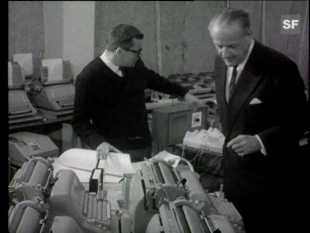Video «Rolf Liebermanns «Les Echanges» von 1964» abspielen