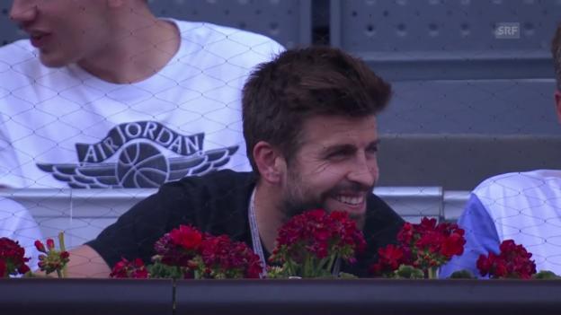 Video «Barcelonas Piqué wird am ATP-Turnier in Madrid ausgebuht (SNTV)» abspielen