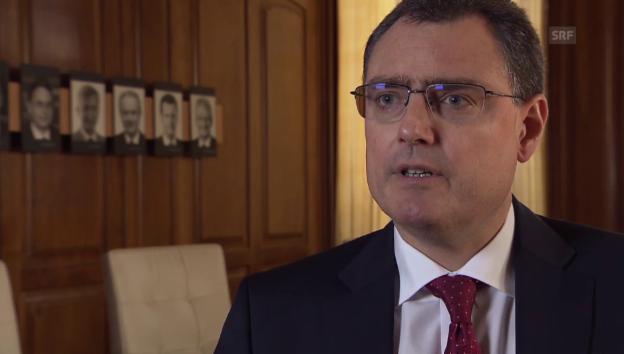 Video «Interview mit Thomas Jordan, SNB-Präsident» abspielen