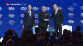 Video «WEF offiziell eröffnet» abspielen