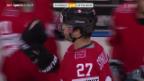 Video «Eishockey: WM in Minsk, Lettland - Schweiz» abspielen