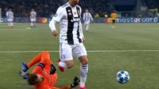 Link öffnet eine Lightbox. Video Wölfli brilliert gegen Juventus abspielen