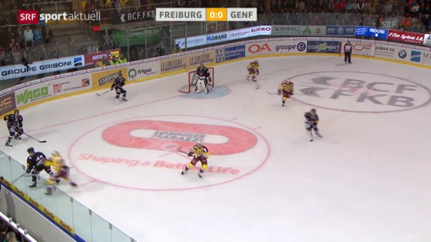 Video «Eishockey: Riveras Assist zum 1:0» abspielen