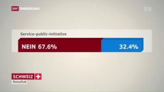 Video «Deutliches Nein für Pro Service Public-Initiative» abspielen