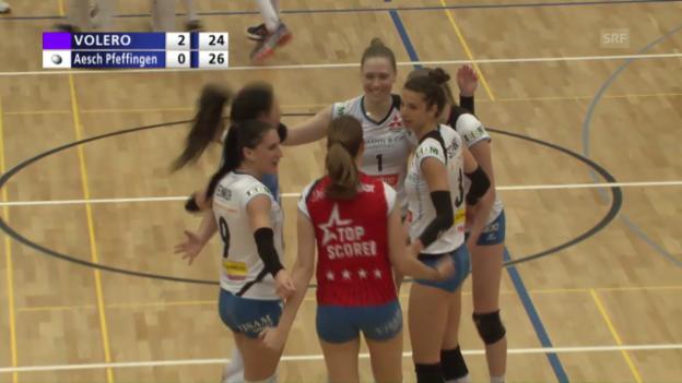 Video «Satzball Aesch, Matchball Volero» abspielen