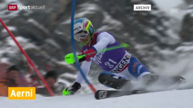 Video «Zwangspause für Luca Aerni («sportaktuell)» abspielen