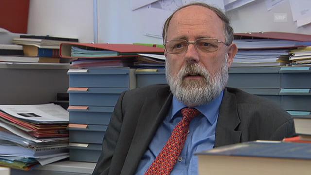 Gebhard Kirchgässner plädiert für das Anhören mehrerer Seiten