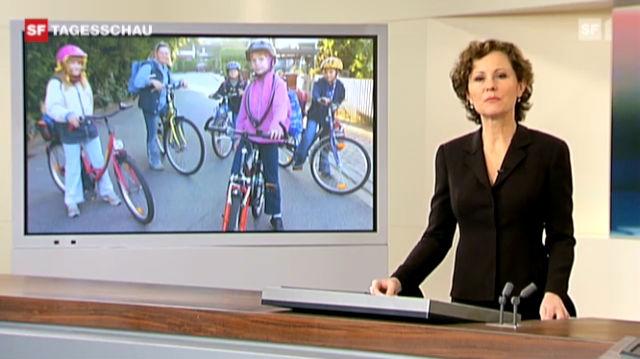 Verkehrskommission lehnt Velohelm-Pflicht ab