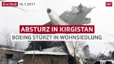 Link öffnet eine Lightbox. Video Zahlreiche Tote nach Flugzeugabsturz in Kirgistan abspielen