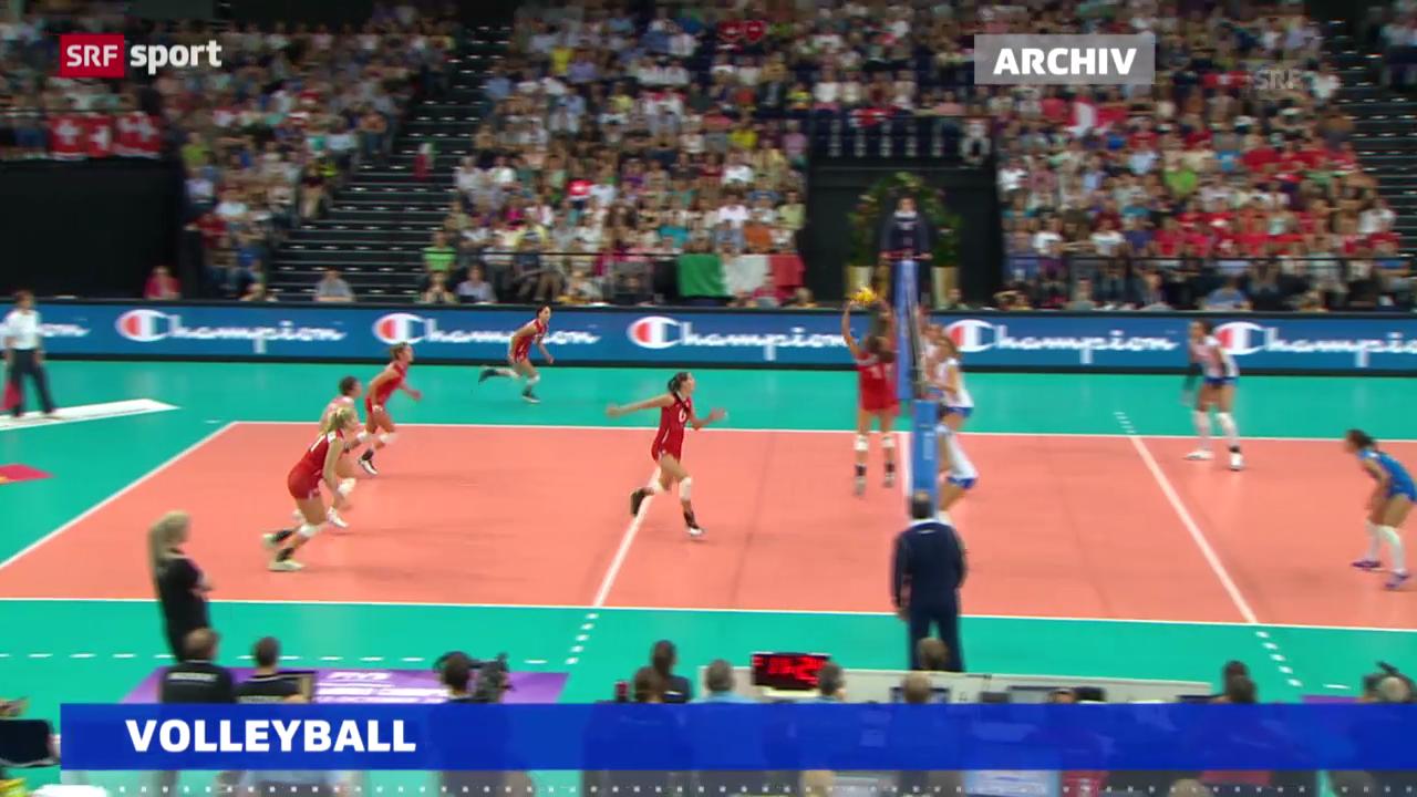 Volleyball: Knappe Niederlage für Schweizerinnen in Israel