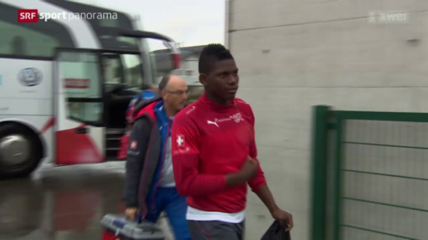 Video «Fussball: Embolo in der Schweizer A-Nati» abspielen